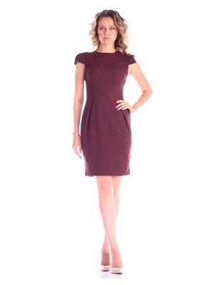 Платье темно-сливовое | 3454956