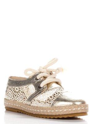 Туфлі золотисті | 3440292