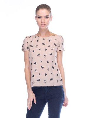 Блуза бежева | 3453615