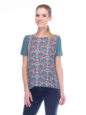 Блуза зелена | 3453655