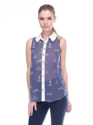 Блуза сіра | 3453627