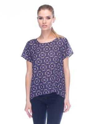 Блуза фиолетовая | 3453622