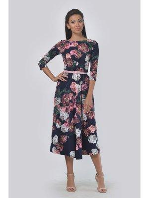 Платье в цветочный принт   3459119