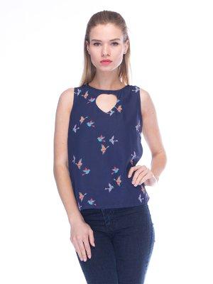 Блуза синя | 3453613