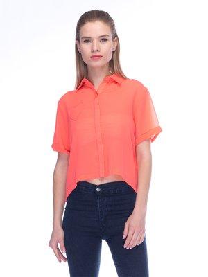 Блуза коралова | 3453614