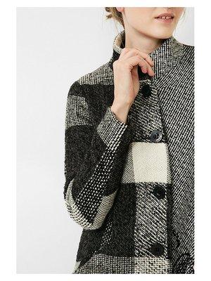 Пальто черно-серое | 2578763