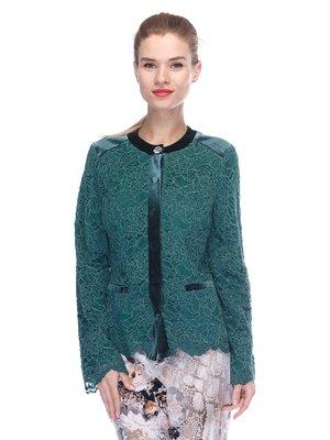 Жакет зеленый | 3455565
