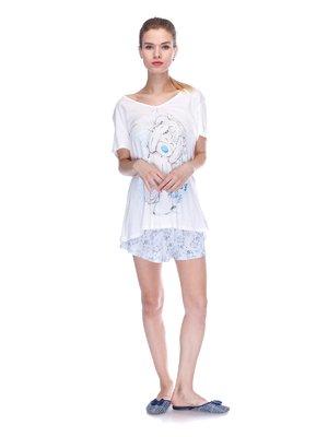 Пижама: футболка и шорты | 3439838