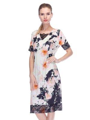 Сукня комбінованого забарвлення | 3455626