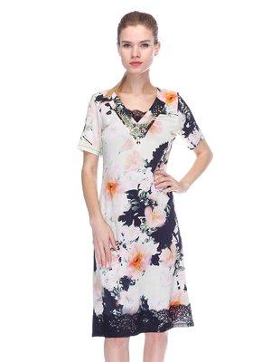 Сукня комбінованого забарвлення | 3455625