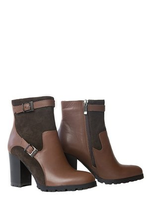 Ботинки коричневые | 3462386