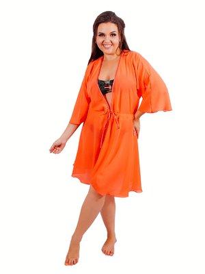 Туника пляжная оранжевая | 3462447