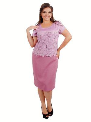 Платье лиловое | 3462492