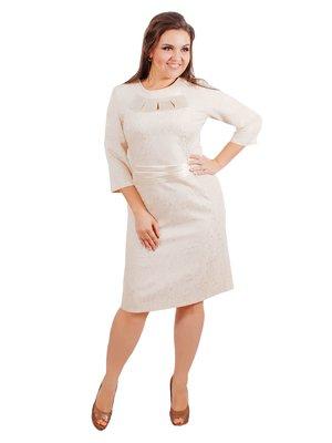 Сукня молочного кольору | 3462532