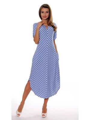 Сукня синя в смужку | 3464029