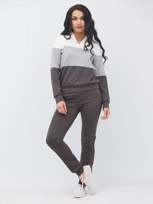 Костюм в спортивном стиле: пуловер и брюки | 3464416