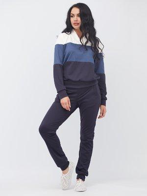 Костюм в спортивному стилі: пуловер і штани | 3464418