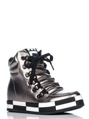 Ботинки цвета никеля | 3465384