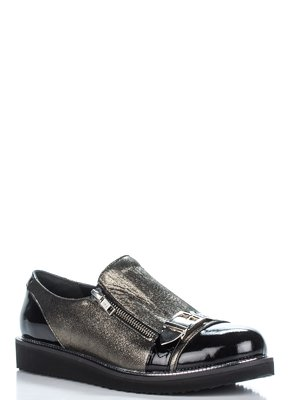 Туфли бронзово-черные | 3297922