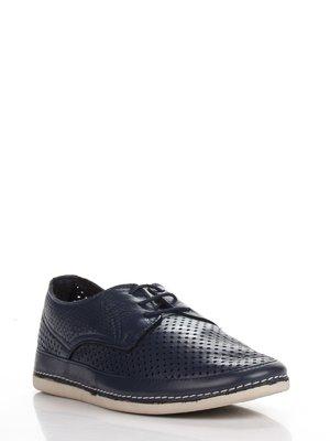 Туфли темно-синие | 3465203