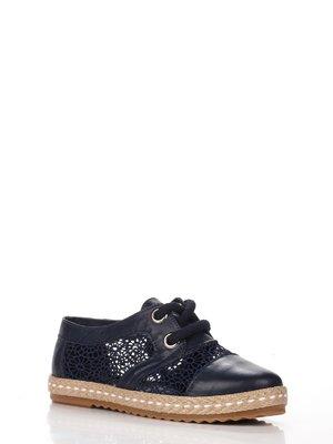 Туфли темно-синие | 3465224