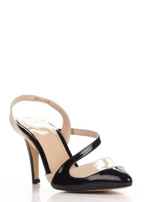 Туфлі чорно-бежеві | 3465229