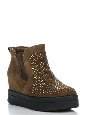 Ботинки коричневые | 3465338