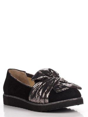 Туфли серебристо-черные | 3465350