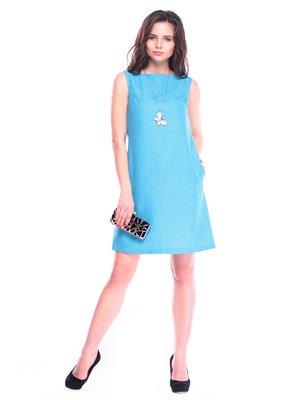 Платье-сарафан ментолового цвета | 3470202