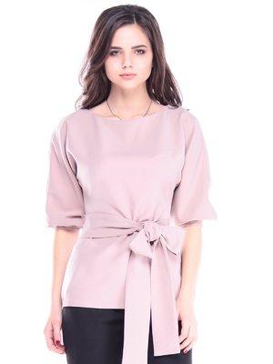 Блуза цвета кофе с молоком | 3470327
