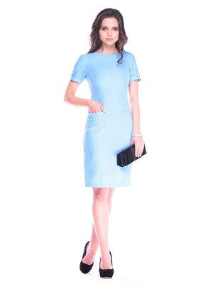 Платье голубое | 3470486