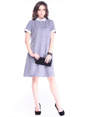Платье дымчато-серого цвета | 3470859
