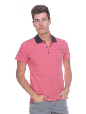 Футболка-поло розовая | 2192951
