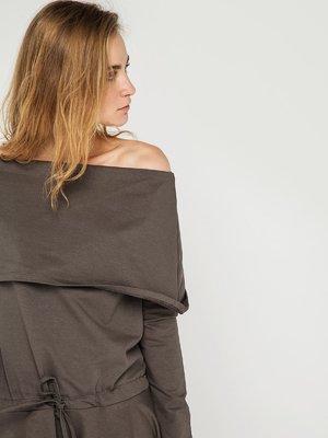 Сукня кольору хакі | 3447205