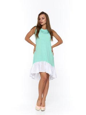 Сукня біло-м'ятного кольору | 3474953