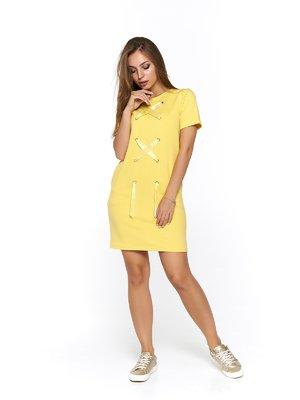 Платье желтое | 3475051