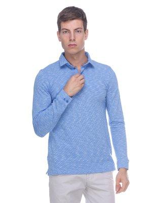 Джемпер-поло голубой | 3468650