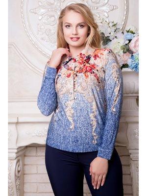 Блуза в принт | 3480201