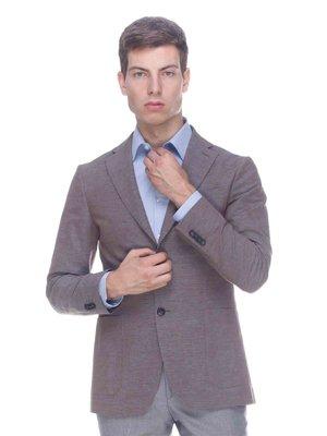 Пиджак коричневый | 3468686