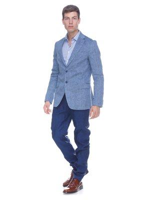 Пиджак серо-голубой | 3468684