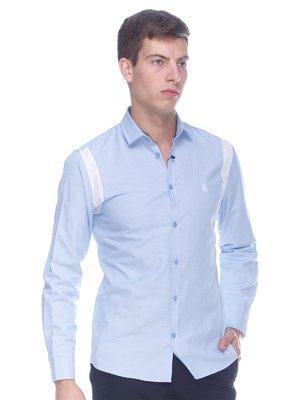 Рубашка голубая | 3170165