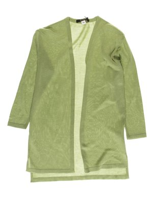 Кардиган зеленый | 3472664