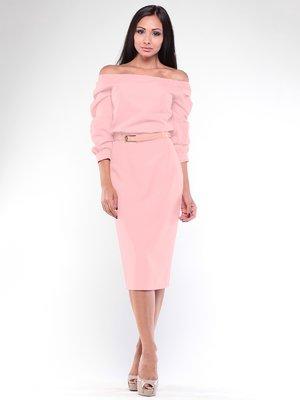 Платье персиковое | 3480980