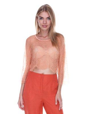 Блуза персикового цвета | 3469361