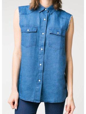 Рубашка ярко-синяя   2353824