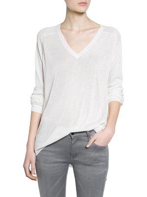 Пуловер белый | 2353846