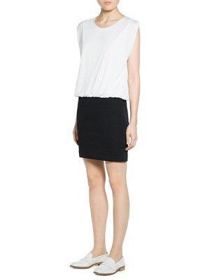 Платье черно-белое | 2352020