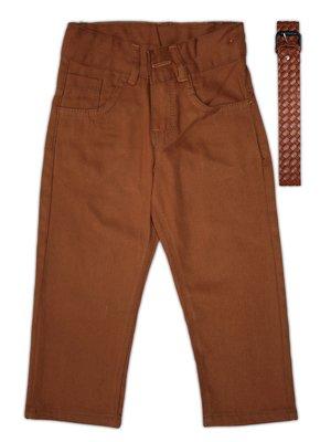 Брюки коричневые | 3483687