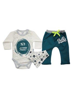 Комплект: боді, штани і труси | 3483688