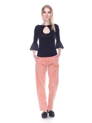 Джинсы персикового цвета - Denny Rose - 3478043